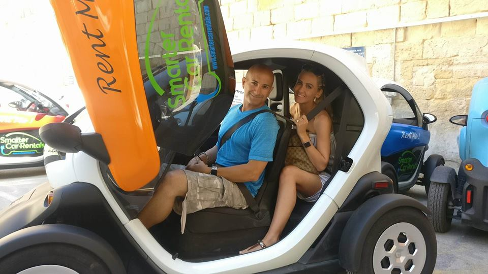 Twizy electric car